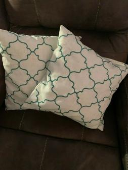 2 of CaliTime Pack of 2 Soft Throw Pillow Covers Cases for C