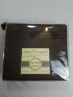 Elegant Comfort 3 Piece Twin XL Sheet Set 1500 Thread Count