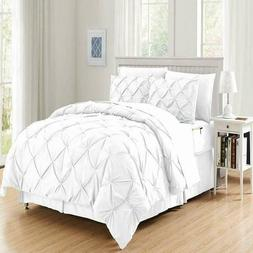 Bed-in-a-Bag Pintuck Comforter Set - 8 piece set Twin/Twin X
