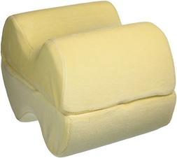 Leg Wedge Pillow - Best Memory Foam 2-in-1 Knee Pillows for