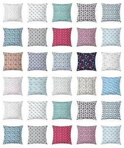 Airplane Mix Throw Pillow Cases Cushion Covers by Ambesonne