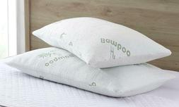 Bamboo Shredded Memory Foam Pillow with Hypoallergenic Bambo