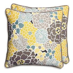 Pillow Perfect Full Bloom Throw Pillow