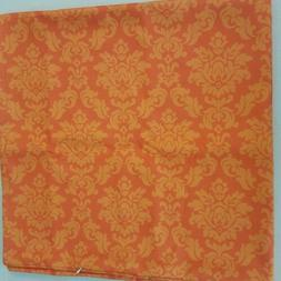 Burnt Orange Throw Pillow Case Cushion Cover by Ambesonne Ho