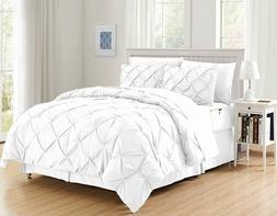 Comforter Set Full Queen Coziest 8-Piece Bed-in-a-Bag Comfor