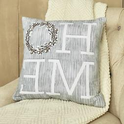"Cotton Boll Furniture Accent Pillow - Home - Farmhouse 17"" T"