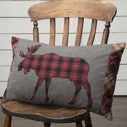 VHC Brands Rustic & Lodge Pillows & Throws-Cumberland Grey A