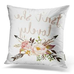 Emvency Decorative Throw Pillow Cover Square Size 16x16 Inch