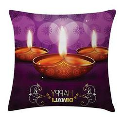 Dwali Throw Pillow Cases Cushion Covers Ambesonne Home Decor