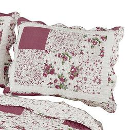Hadley Floral Patchwork Quilted Pillow Sham