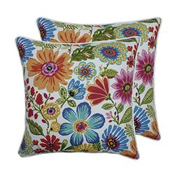 "Pillow Perfect Indoor/Outdoor Gregoire Prima 18.5"" Throw Pil"