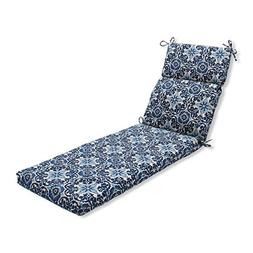 Pillow Perfect Outdoor/Indoor Woodblock Prism Chaise Lounge