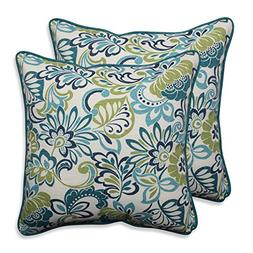 Pillow Perfect Outdoor/ Indoor Zoe Mallard 18.5-inch Throw P