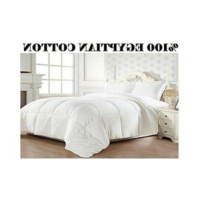 Elegant Comfort 1200 Thread Count Goose Down Alternative 100