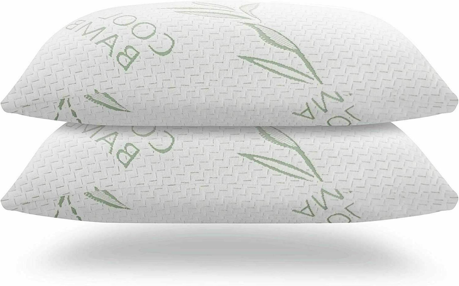 Bamboo Memory Foam Hypoallergenic Cover