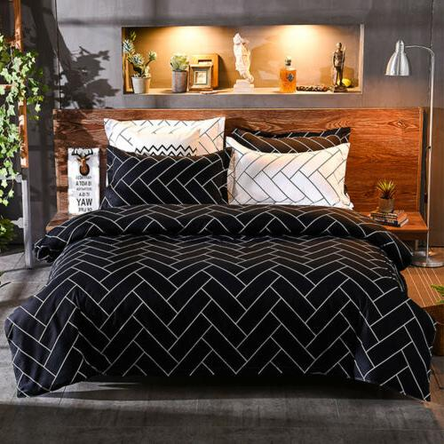 3Pcs Cover Printed Comforter w/ Full Queen