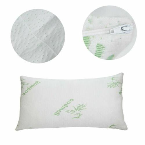 Bamboo Shredded Memory Pillow Hypoallergenic Bed US