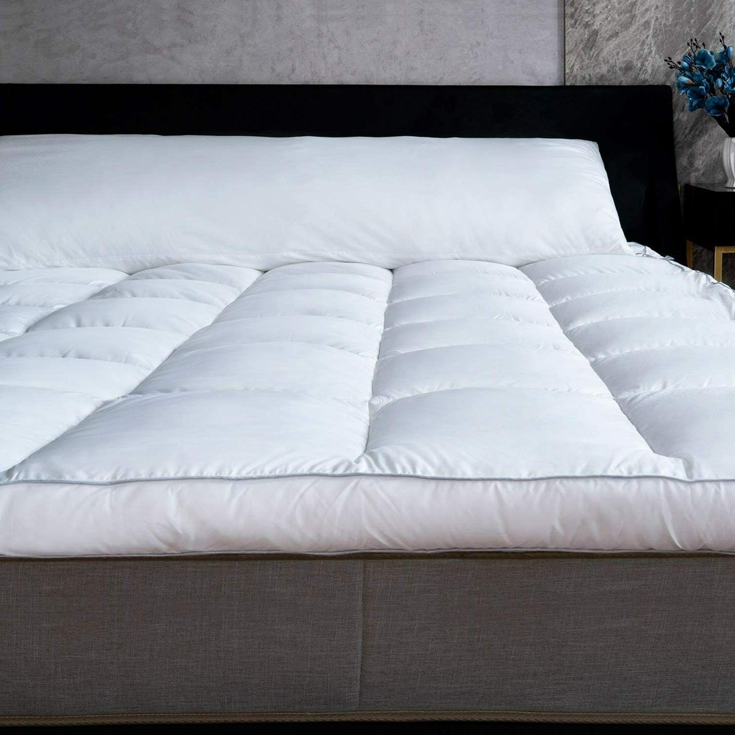 Mattress Topper Top Bed Soft Down Alternative 3-Inch Thick NEW