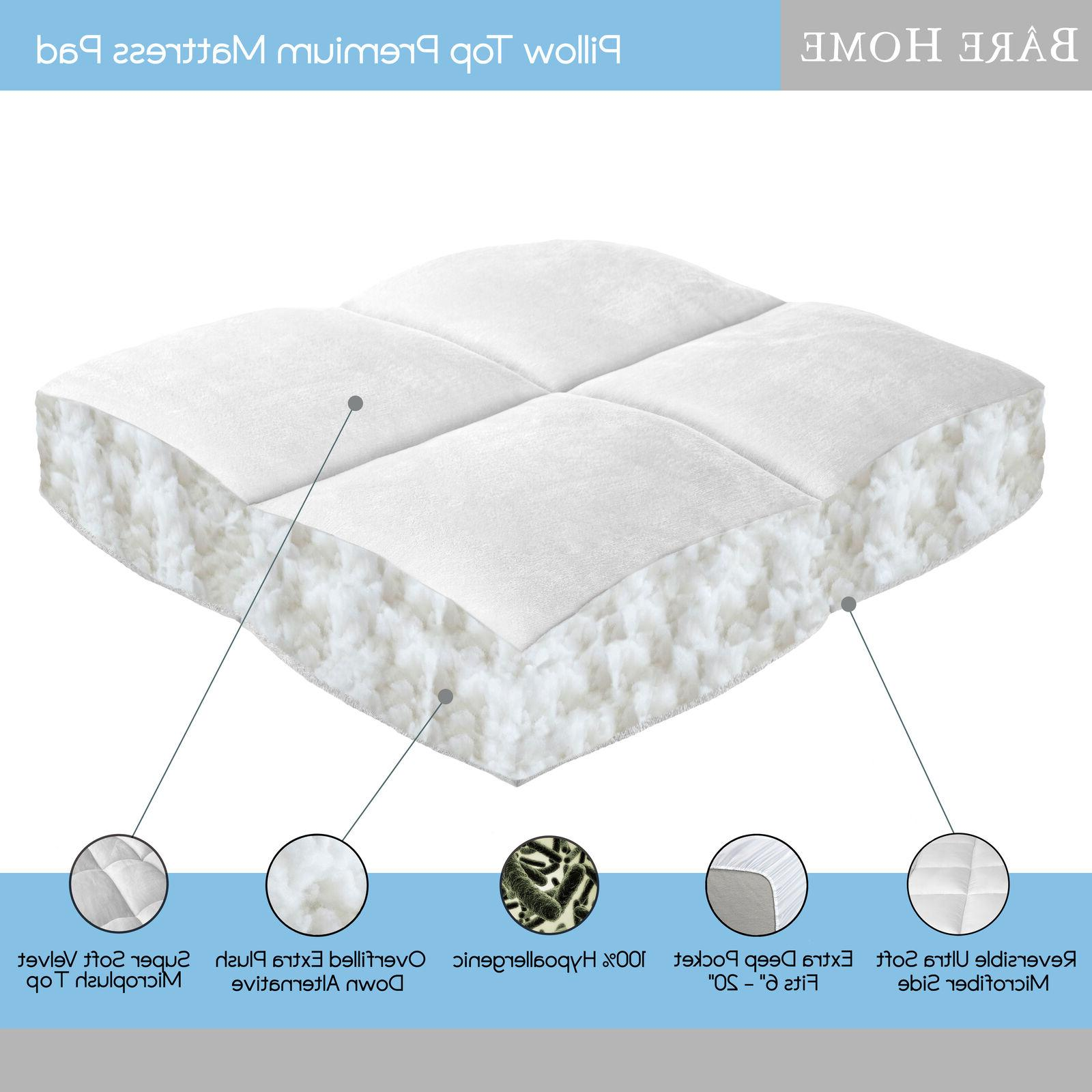 Bare Pillow-Top Inch