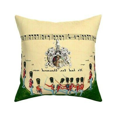 soldiers army grand old duke of throw