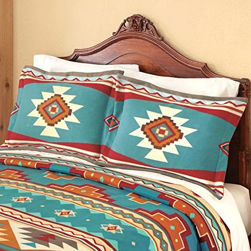 Southwest Aztec American Fleece Sham