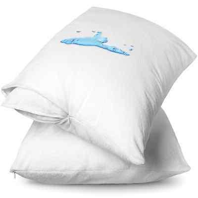 Bare Home Terry Pillow Protectors