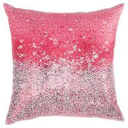 Signature Design by Ashley Meilani Throw Pillow Silver, Pink
