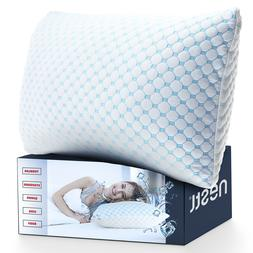 Memory Foam Cooling Pillow Heat and Moisture Reducing Ice Si