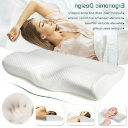Foam Sleep Pillow Contour Cervical Orthopedic Neck Support B