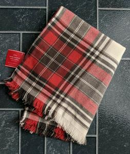 "NEW Pottery Barn Hamilton 20"" Plaid Pillow Cover Tartan Lodg"