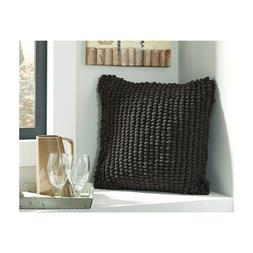NEW Signature Design by Ashley Lukas Throw Pillow, BLACK, 20