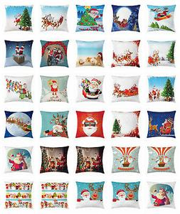 Santa Throw Pillow Cases Cushion Covers by Ambesonne Home Ac