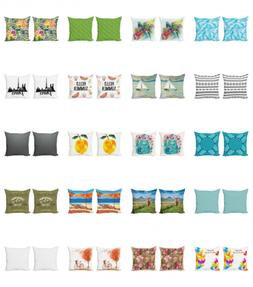 Ambesonne Throw Pillow Case Cushion Cover 2 Set Decorative F
