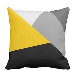 Emvency Throw Pillow Cover Contemporary Simple Modern Gray Y