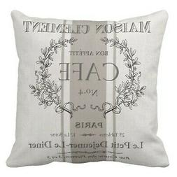 Emvency Throw Pillow Cover Grain Modern Vintage French Sac D