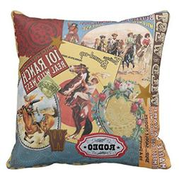 Emvency Throw Pillow Cover Wild Modern Vintage Western West