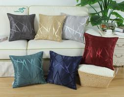 CaliTime Pillows Shells Cushion Cover Lines Geometric Home S