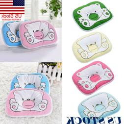 US Baby Pillow Newborn Anti Flat Head Syndrome for Crib Cot